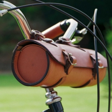 Pashley Leather Handlebar Bag