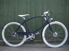 Velo-Ideale Custom Pashley Tube Rider Cafe Racer