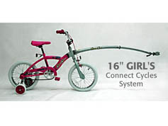 Connect-Cycles Trail-Gator with Child Bicycle ** ON SALE **